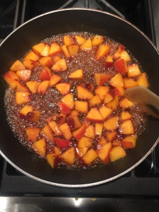 Caramelized Peaches